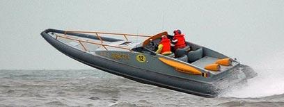 Birretta tijdens de Belgian Offshore 2007