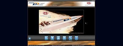 Virtual Spectator beginscherm