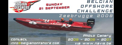 Belgian Offshore Challenge op 21/09/2008