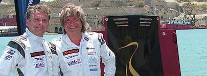 Gino Passchier en Sigi Greve zetten wereldrecord
