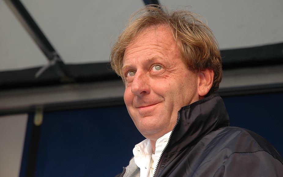 Jean-Marie tijdens de Belgian Offshore 2005 briefing