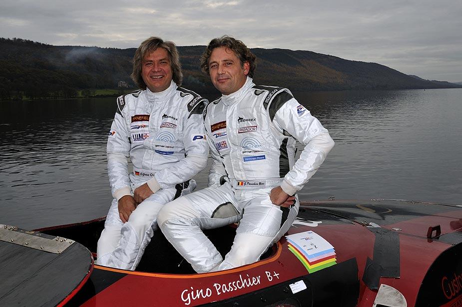 Siegfried Greve en Gino Passchier in Coniston