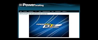 Win de unieke Powerboat P1 2008 DVD
