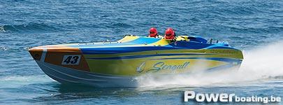 Seagull Chaudron haalde de eerste plaats in de Supersport