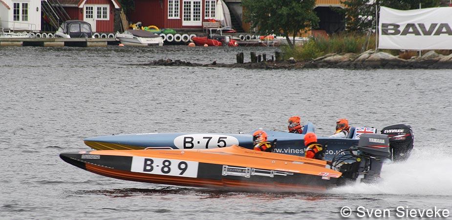 Gino Passchier in de Norwegian B3 Class 2009