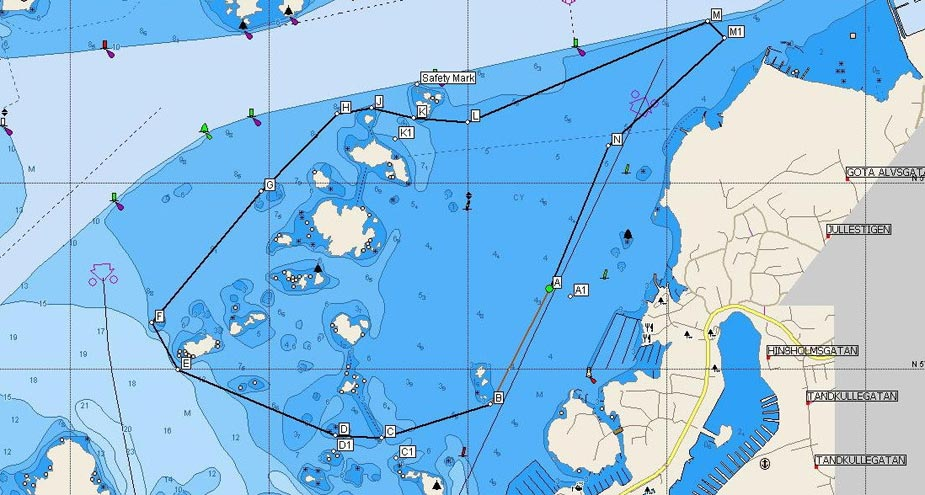 Scandinavian Grand Prix of the Sea - powerpole
