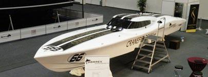 Searex Diva klaar voor het volgende powerboat P1 seizoen
