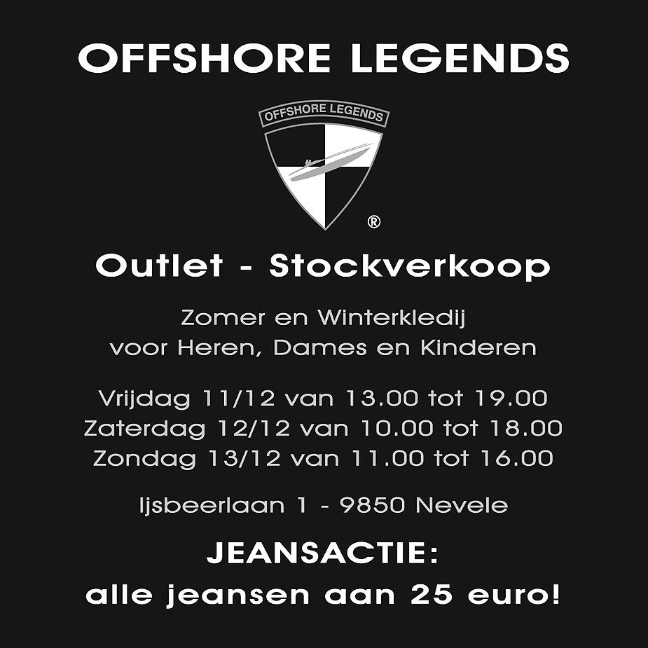 Offshore Legends houdt stockverkoop