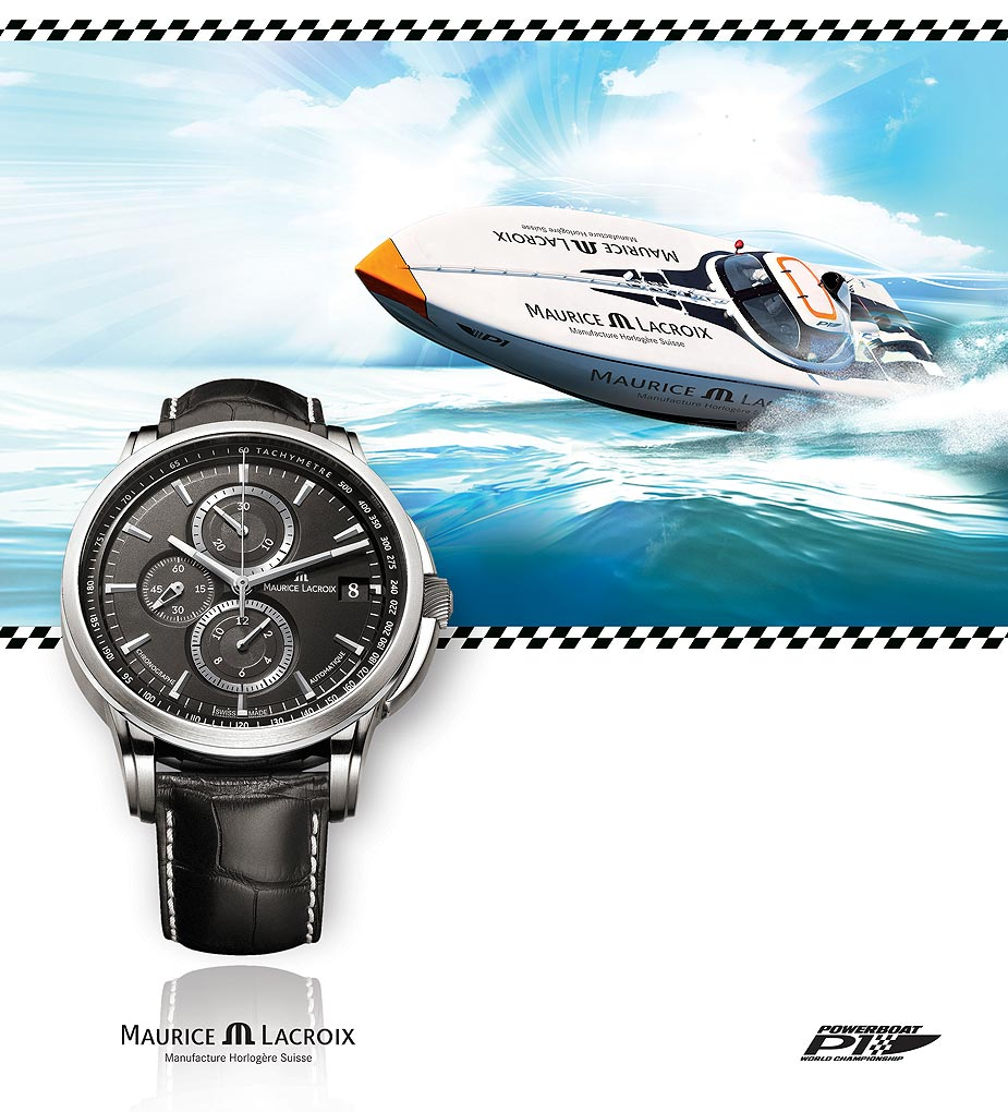 Maurice Lacroix officiële timing partner Powerboat P1 2010