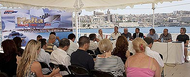 Malta Grand Prix of the Sea 2010 press conference