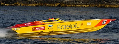 Karelpiu Supersport Class Powerboat