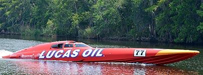 Silverhook: the new 77 Lucas Oil Peters & May race boat