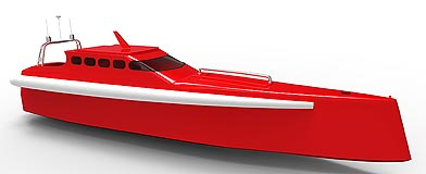 Round the world super powerboat takes shape