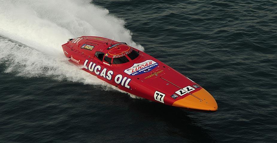 Lucas Oil Scandivavian Offshore Challenge going for gold - credit: Karel Overlaet