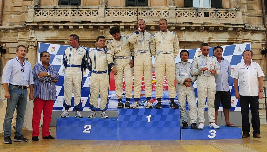 Supersport podium round 4