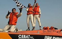 2011 Ocean Grand Prix round 3 at Siracusa: win for Jolly Drive and Furnibo