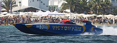 Ibiza 2014: Victory wins race 1 - Tommy One wins in V1