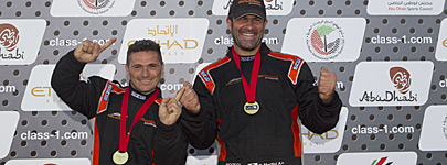 Victory and Chaudron are the new 2014 World Champions