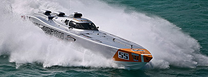 Powerboating team Chaudron V1 class - courtesy of Class 1 - (C) Simon Palfrader
