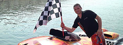 Aaron Ciantar of Chaudron Powerboats