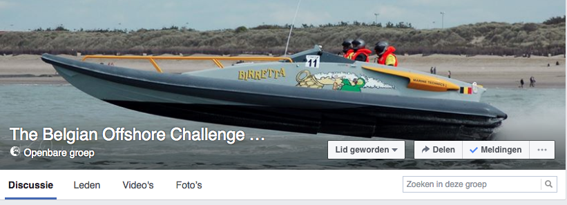The Belgian Offshore Challenge Community on Facebook