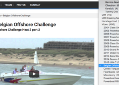 Videos of the BOC on powerboating.be